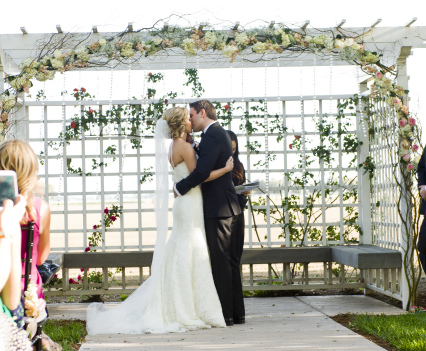 Ceremony Arbor with Crystals