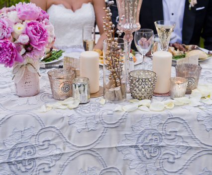 Spring Romance Sweetheart Table