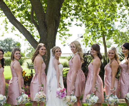 Palette of Pinks Wedding