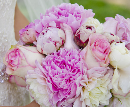 Spring's Best Bridal Bouquet