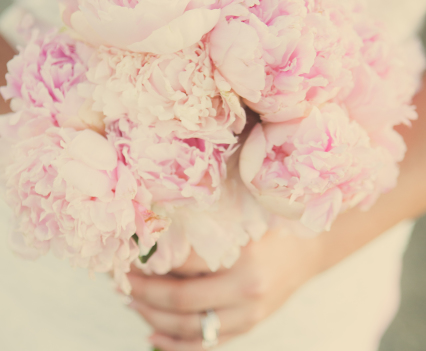 Dusty Pink Bridal Bouquet