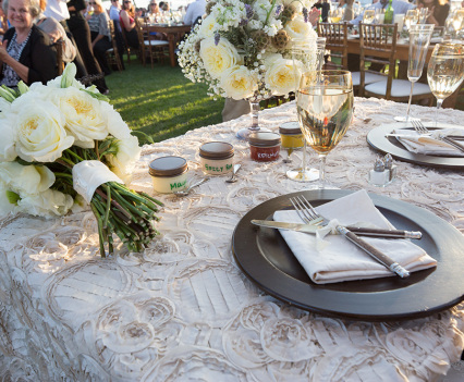 Vineyard Elegance Table Arrangement